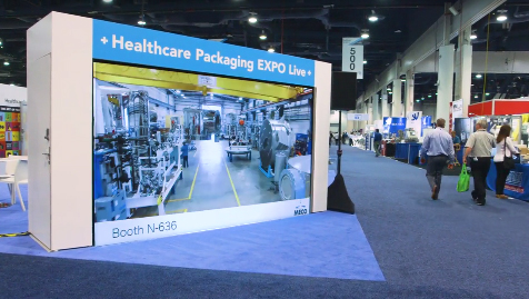 Healthcare Packaging's Video Wall